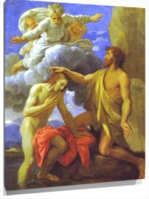 Lienzo The Baptism of Christ