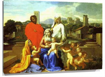 Lienzo The Holy Family