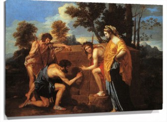 Lienzo The Arcadian Shepherds