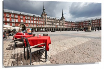 Lienzo Plaza mayor