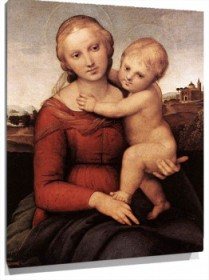 Lienzo Madonna and Child