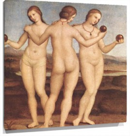 Lienzo The Three Graces