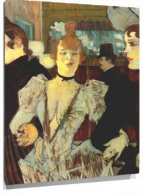 Lienzo Moma La Goulue Moulin Rouge