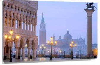 Lienzo Venecia plaza san marcos
