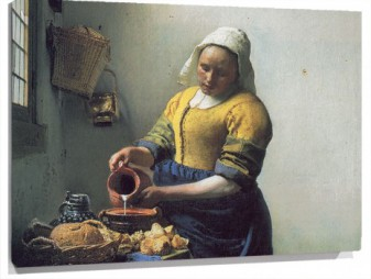 Lienzo The Milkmaid