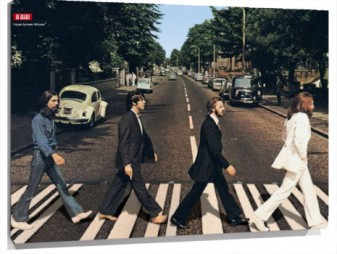 Lienzo Beatles