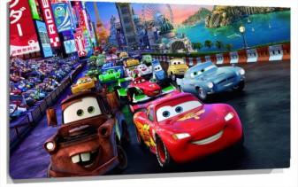 Lienzo Fotomural Cars infantil