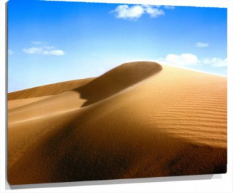 Lienzo dunas
