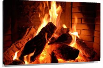 Lienzo fuego