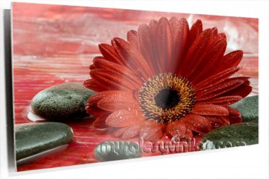 lienzo-mural-margarita-roja-piedras.jpg