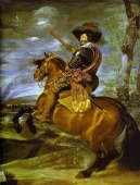 Foto mural Count-Duke of Olivares on Horseback
