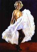Foto mural Dancer of French Cancan