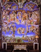 Lienzo The Last Judgment