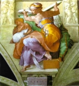 Murales The Libyan Sibyl