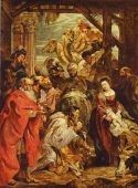 Murales Adoration of the Magi