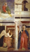 Murales Legend of the True Cross Annunciation