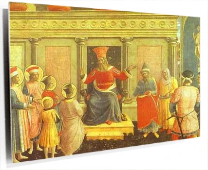 Fra_Angelico_-_San_Marco_Altarpiece;_Cosmas_and_Damian_before_Lycias.JPG