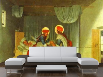 Foto mural the healing of the deacon justian fra angelico for Muebles alarcon requena