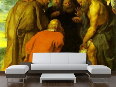 peter paul rubens the tribute money The elevation of the cross altarpiece is a masterpiece of baroque painting by the  flemish painter peter paul rubens the work was originally installed on the.