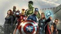 Murales Capitan America Hulk Iron Man Nick Fury Ojo De Halcon Thor Y Viuda Negra De Los vengadores