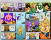 Murales Comic dragon ball