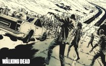 Murales Walking Dead Comic