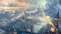 Murales Peter Pan Walt Disney