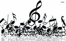 Murales Music notes