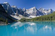 Murales Lago y montañas rocosas