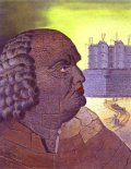 Murales Imaginary Portrait of the Marquis de Sade