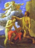 Murales The Baptism of Christ