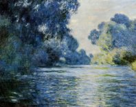 Lienzo arm of the seine at giverny