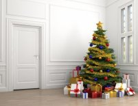 Lienzo árbol de navidad