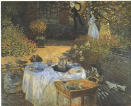 Das_Mittagsmahl_De_Claude_monet