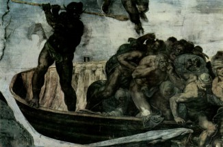 Charon_With_Ferry_De_michelangelo