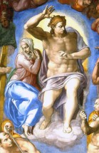 Murales Christ And Mary De michelangelo