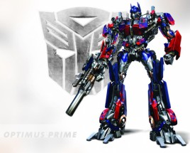 Fotomural Optimus Prime en transformers