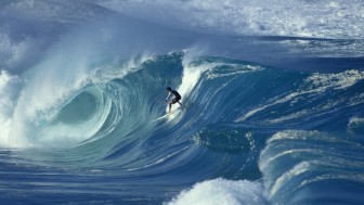 Murales Blue Wave Surfing