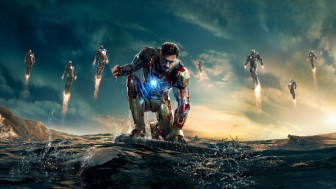 Fotomural Iron Man 3