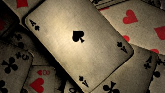 Fotomural Cartas Poker