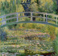 Murales Puente Japones de Monet