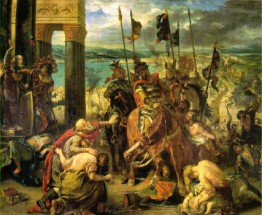 Foto mural Entry Of The Crusaders Into Constantinople