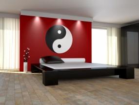 Murales Dormitorio con ying yang