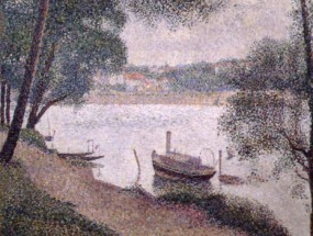 Murales Landscape with a Boat