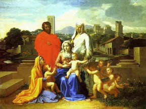 Murales The Holy Family
