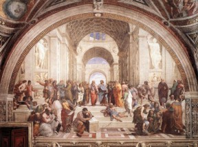 Foto mural The School of Athens