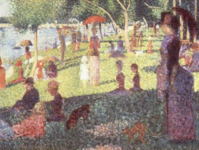 Murales Sunday Afternoon on the Isle of Lan Grande Jatte