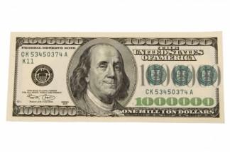 Murales billete one million