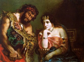 Murales Cleopatra and the Peasant