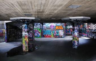 Murales habitacion con grafitis